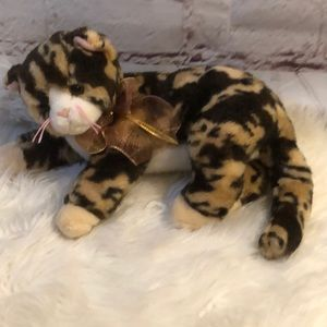 TY 2006 RARE CALICO CAT LARGE SIZE BEANIE BABY